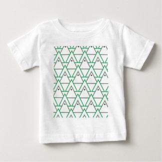 Camiseta Para Bebê galáxia do triângulo