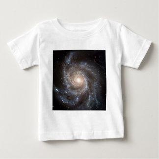 Camiseta Para Bebê Galáxia espiral