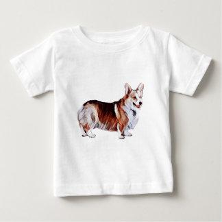 Camiseta Para Bebê Galês Tricolor Corgi.PNG