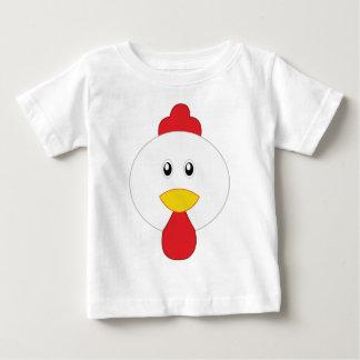 Camiseta Para Bebê Galo adorável pouco jardim zoológico