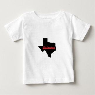 Camiseta Para Bebê Galveston Texas.