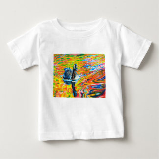 Camiseta Para Bebê Ganso Trippy