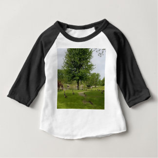 Camiseta Para Bebê Gansos