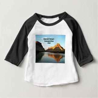 Camiseta Para Bebê Garganta da catarata, o Rio Colorado, UT