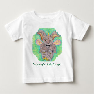 Camiseta Para Bebê Gárgula do bebê