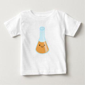 Camiseta Para Bebê Garrafa alaranjada bonito do kawaii da alquimia