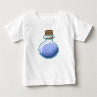 Camiseta Para Bebê Garrafa azul da alquimia