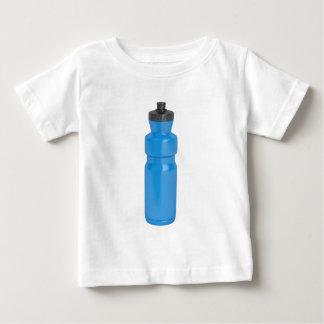 Camiseta Para Bebê Garrafa plástica azul