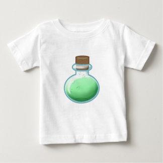 Camiseta Para Bebê Garrafa verde da alquimia