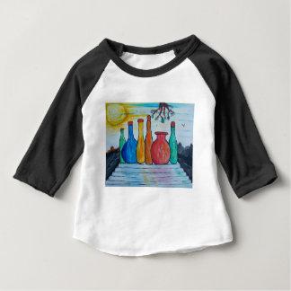 Camiseta Para Bebê Garrafas monumentais