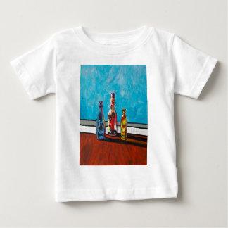 Camiseta Para Bebê Garrafas Sunlit