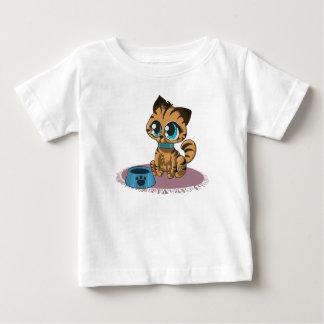 Camiseta Para Bebê Gatinho