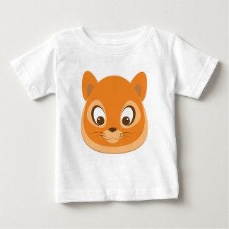 Camiseta Para Bebê Gatinho curioso