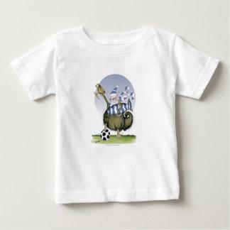 Camiseta Para Bebê gatinho dos azuis do futebol