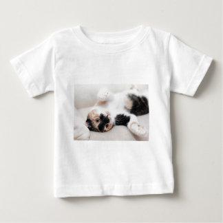 Camiseta Para Bebê gato