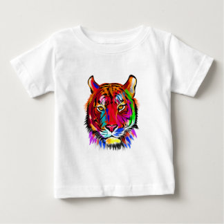 Camiseta Para Bebê Gato de muitas cores