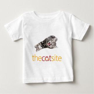 Camiseta Para Bebê Gato de riso