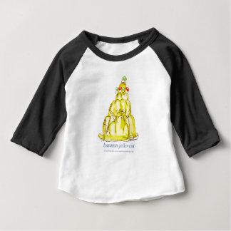 Camiseta Para Bebê gato do jello da banana dos fernandes tony