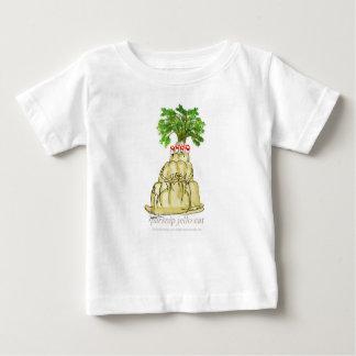 Camiseta Para Bebê gato do jello da pastinaga dos fernandes tony
