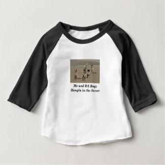 Camiseta Para Bebê Gatos da rua