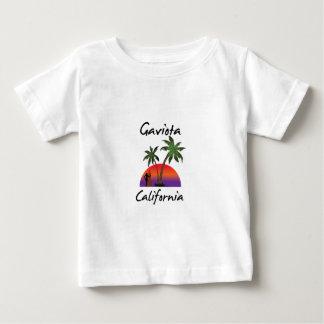 Camiseta Para Bebê Gaviota Califórnia