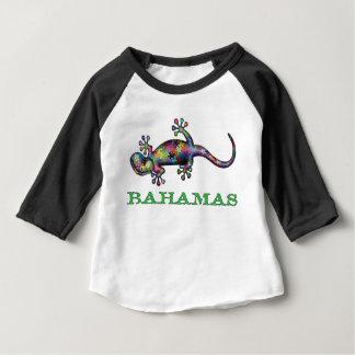 Camiseta Para Bebê Geco de Bahamas