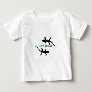 Camiseta Para Bebê gecos da praia do ewa