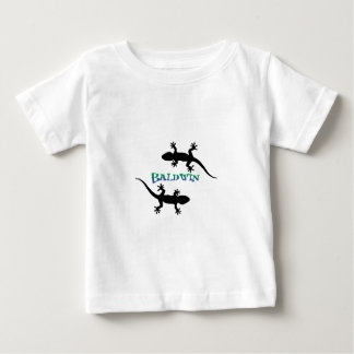 Camiseta Para Bebê gecos de Califórnia da praia do baldwin