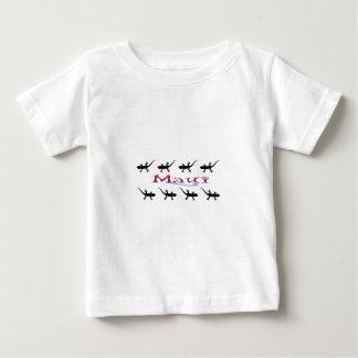 Camiseta Para Bebê gecos de maui