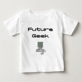Camiseta Para Bebê Geek futuro