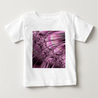 Camiseta Para Bebê Gelo da ligação no Fractal congelado do lago