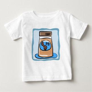 Camiseta Para Bebê Gêmeo da manteiga de amendoim/t-shirt do irmão