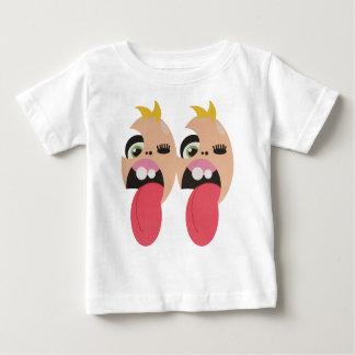 Camiseta Para Bebê Gêmeos