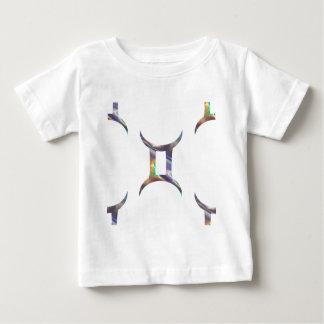 Camiseta Para Bebê Gêmeos do holograma