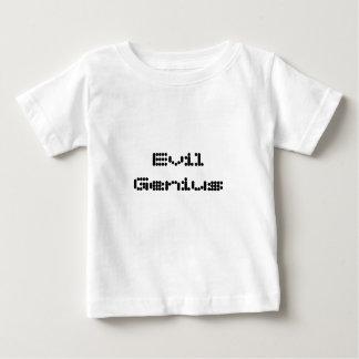 Camiseta Para Bebê Gênio mau