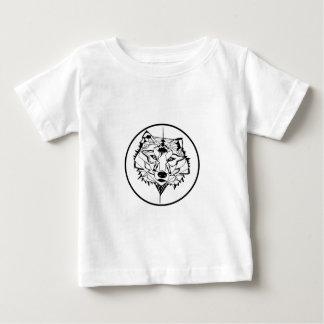 Camiseta Para Bebê GeoWolf