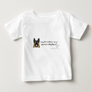 Camiseta Para Bebê german shepherd