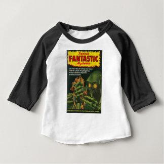 Camiseta Para Bebê Ghoul verde gigante