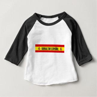 Camiseta Para Bebê Gibraltar Español - espanhol Gibraltar