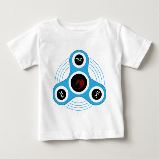 Camiseta Para Bebê Girador da inquietação do CST