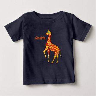 Camiseta Para Bebê Girafa do vetor