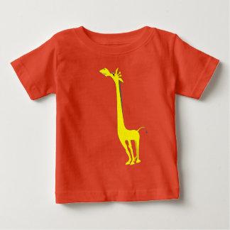 Camiseta Para Bebê Girafa dos desenhos animados - bicho