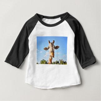 Camiseta Para Bebê Girafa parvo