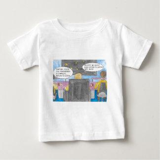 Camiseta Para Bebê Gire ao redor a missão