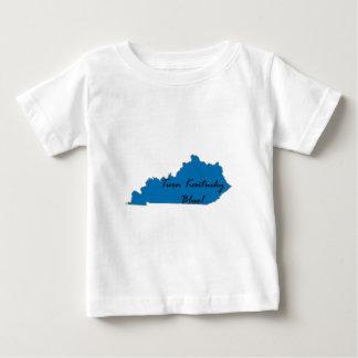 Camiseta Para Bebê Gire Kentucky azul! Orgulho Democrática!