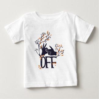 Camiseta Para Bebê gire se fora ou no design bonito