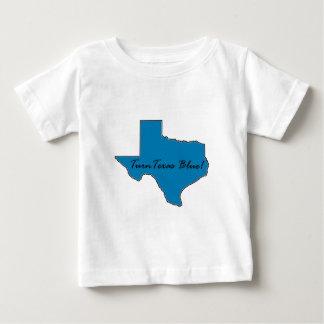 Camiseta Para Bebê Gire Texas azul! Orgulho Democrática