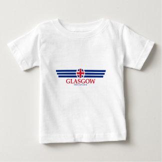 Camiseta Para Bebê Glasgow