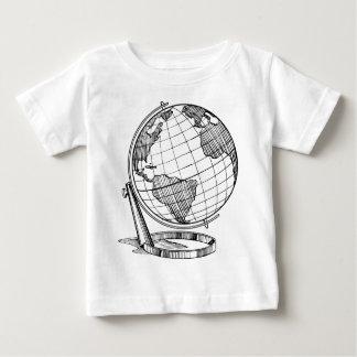 Camiseta Para Bebê Globo do mundo
