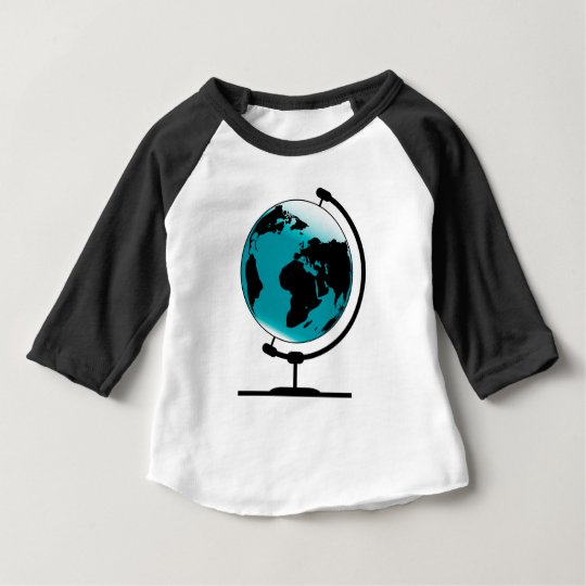 Camiseta Para Bebê Globo montado no giro de giro